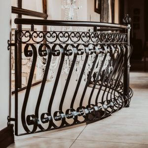 Wrought Iron Balustrade B09 by The Wooden Blacksmith