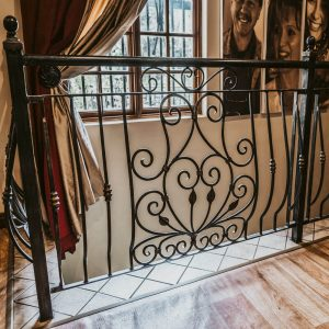 Wrought Iron Balustrade B03 by The Wooden Blacksmith