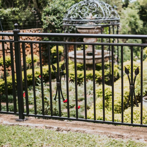 Wrought Iron Balustrade B07 by The Wooden Blacksmith