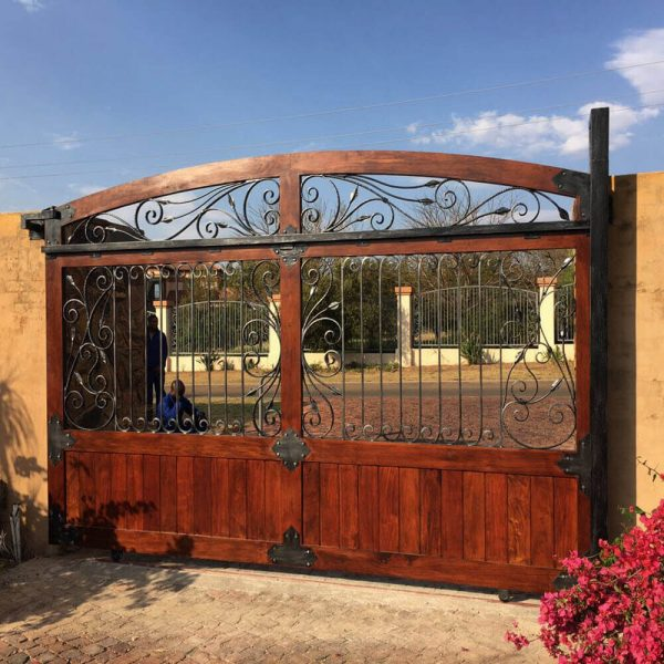 Driveway Gate DG03 by The Wooden Blacksmith