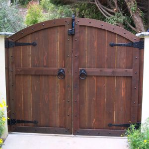 Driveway Gate DG05 by The Wooden Blacksmith