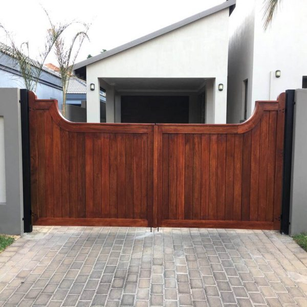 Driveway Gate DG02 by The Wooden Blacksmith
