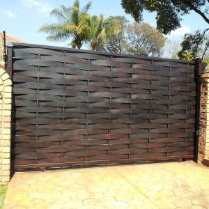 Driveway Gate DG08 by The Wooden Blacksmith