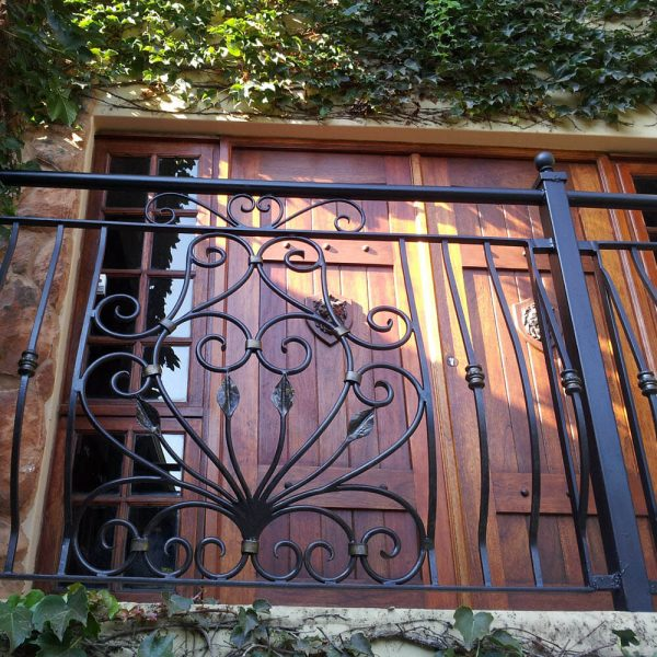 Wrought Iron Balustrade B04 by The Wooden Blacksmith