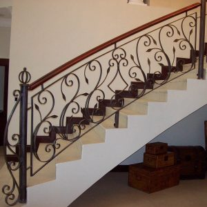 Wrought Iron Balustrade B08 by The Wooden Blacksmith